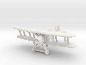 1/200 Gloster Gauntlet in White Natural Versatile Plastic