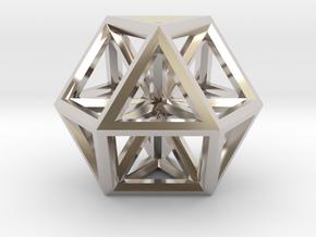 """Small Vector Equilibrium 1"""" in Platinum"""