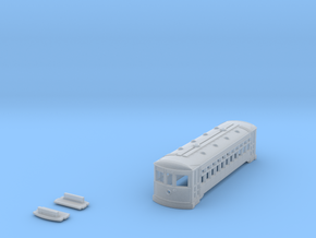 N Scale 2 Truck BIRNEY Shell in Smooth Fine Detail Plastic