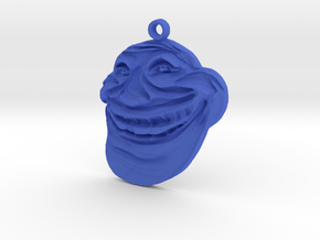 Internet Troll in Blue Processed Versatile Plastic