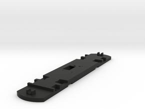 HO Floor For 2-Truck Birney or Box Motor in Black Natural Versatile Plastic
