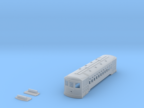 N Scale Standard Streetcar Shell in Smooth Fine Detail Plastic