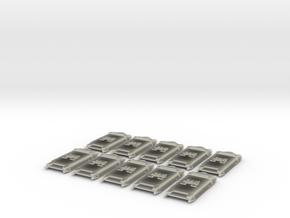 Legion Breacher Shields  in Transparent Acrylic