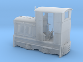 Feldbahn Gmeinder 20/24  1:35 in Smooth Fine Detail Plastic