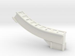 Looping-blau-hinten Unten.stl in White Natural Versatile Plastic