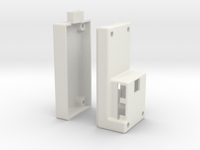 Alexmos Third Axis Controller Stand Alone Housing in White Strong & Flexible