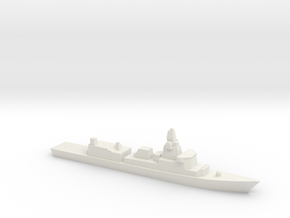 M-Fregat 1:2400 in White Natural Versatile Plastic