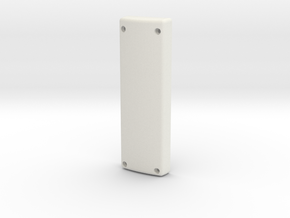 Poignee JPN Bas V2 in White Natural Versatile Plastic