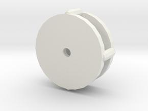 Seguro Stein in White Natural Versatile Plastic