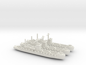 LCI(R) 1/600 Scale 3 Off in White Natural Versatile Plastic