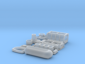 1 16 426 Hemi GMC Blower W FI System in Smooth Fine Detail Plastic