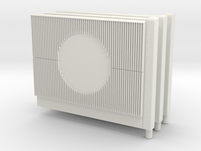 Beton-Schallschutzwand Mit Kreiselement 3x- in White Strong & Flexible