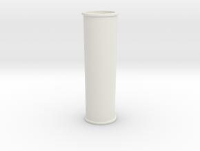 Smoke Stack in White Natural Versatile Plastic