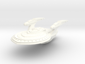 Oregon Class Cruiser in White Processed Versatile Plastic