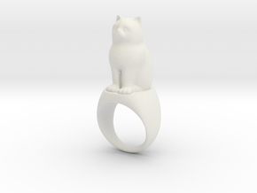Katzenring Catring in White Strong & Flexible