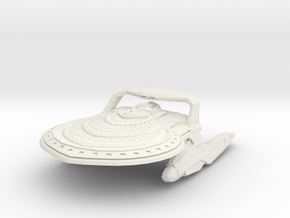 California Class HvyCruiser in White Natural Versatile Plastic