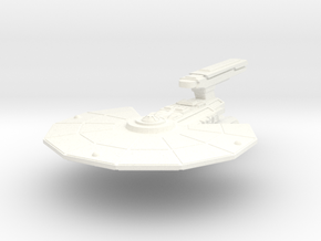 USS Cayton in White Strong & Flexible Polished