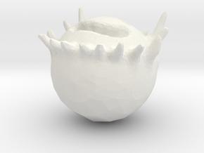 Robi (Deszk) in White Natural Versatile Plastic