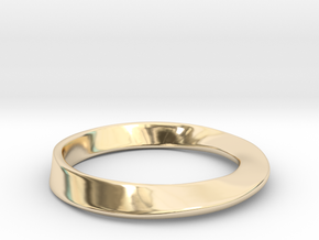 Möbius Ring in 14K Yellow Gold