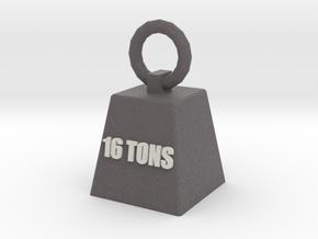 16t Key Ring in Full Color Sandstone