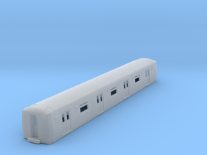 N Scale R44/R46 Subway Car B Unit Shell in Smooth Fine Detail Plastic
