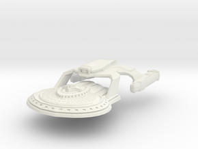 Prevatt Class Freighter With Pods Off in White Natural Versatile Plastic