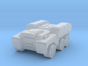 'Broadside' Armored Truck 6mm in Smooth Fine Detail Plastic