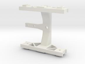 DoubleAxle G-scale in White Natural Versatile Plastic