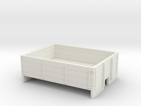 009 3 plank dropside wagon body in White Strong & Flexible