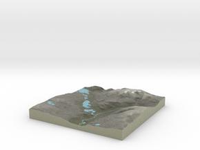 Terrafab generated model Sat Sep 28 2013 13:48:50  in Full Color Sandstone