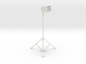 1/10 Scale Tall Work Light 1 in White Strong & Flexible