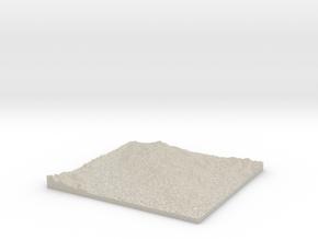 Model of Vallejo in Sandstone