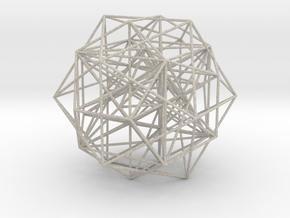 MorphoHedron11-800C  in Natural Sandstone