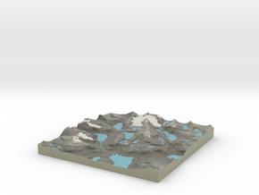 Terrafab generated model Mon Sep 30 2013 11:03:14  in Full Color Sandstone