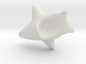 384 in White Natural Versatile Plastic