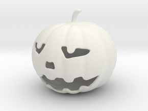 Pumpkin in White Strong & Flexible