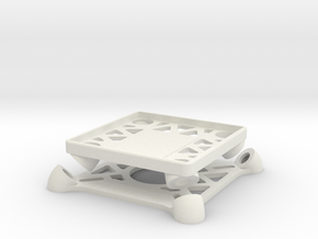 Omnimac KK Mount V1.0 in White Natural Versatile Plastic