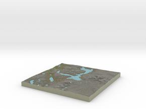 Terrafab generated model Fri Oct 04 2013 09:29:14  in Full Color Sandstone