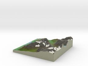 Terrafab generated model Sun Oct 06 2013 19:46:44  in Full Color Sandstone
