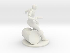 Saar Infantry in White Natural Versatile Plastic