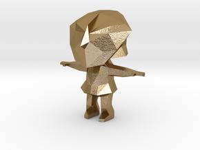 Alan Robotron in Polished Gold Steel