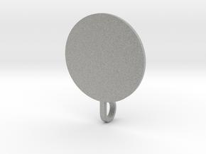 Snowflake Pendant (with base) in Metallic Plastic