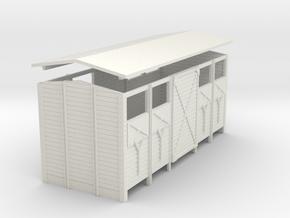 HOe/HOm Body Van P Opvent Door2 in White Strong & Flexible