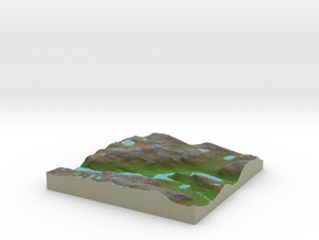 Terrafab generated model Thu Oct 10 2013 11:06:21  in Full Color Sandstone