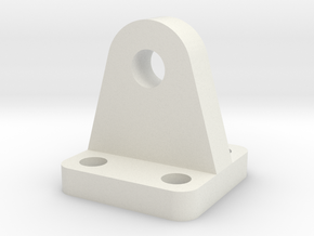 Mounting Plate - Suitable for most scales in White Natural Versatile Plastic
