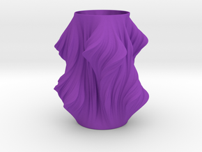 Julia Vase #011 - Heatwave in Purple Strong & Flexible Polished