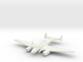 1/144 Petlyakov Pe-2 in White Natural Versatile Plastic