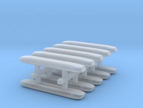DBS 4000 10x18mm - Ecke und Balken aus einem Stück in Smooth Fine Detail Plastic