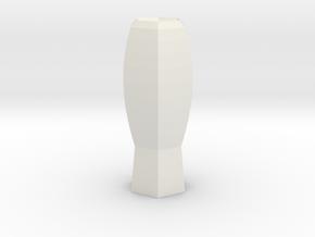 fantasia vase in White Strong & Flexible