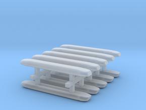 DBS 4000 10x21mm - Ecke und Balken aus einem Stück in Frosted Ultra Detail